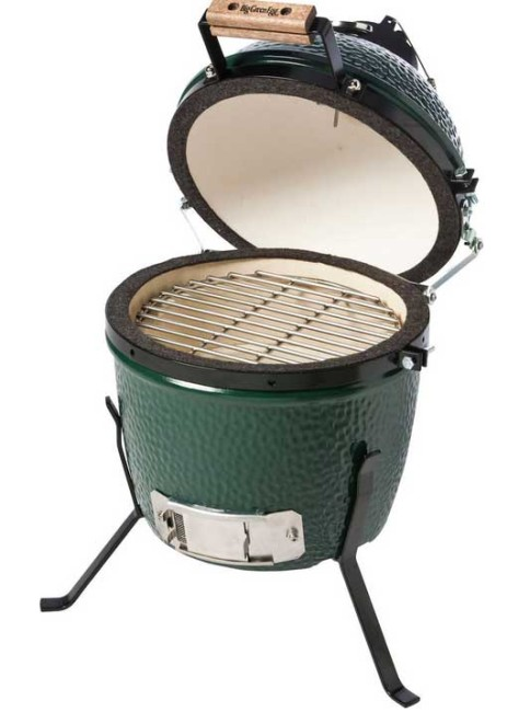 Big green egg hiiligrilli