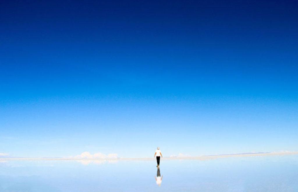 Salar de Uyuni - suolatasanko