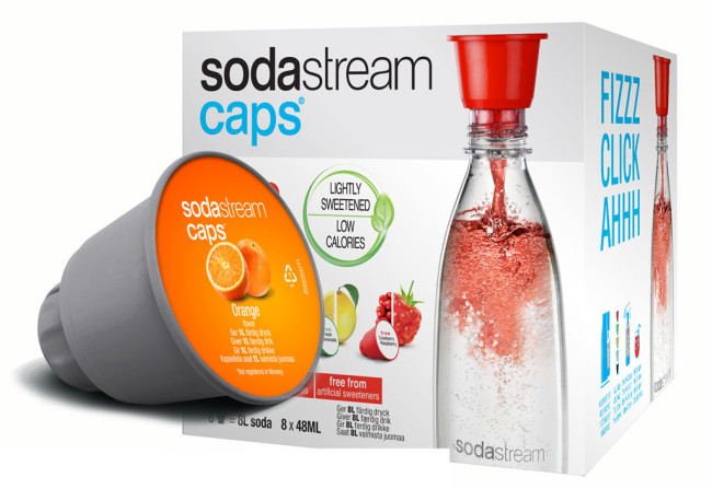 Sodastream Caps virvoitusjuomakapseli