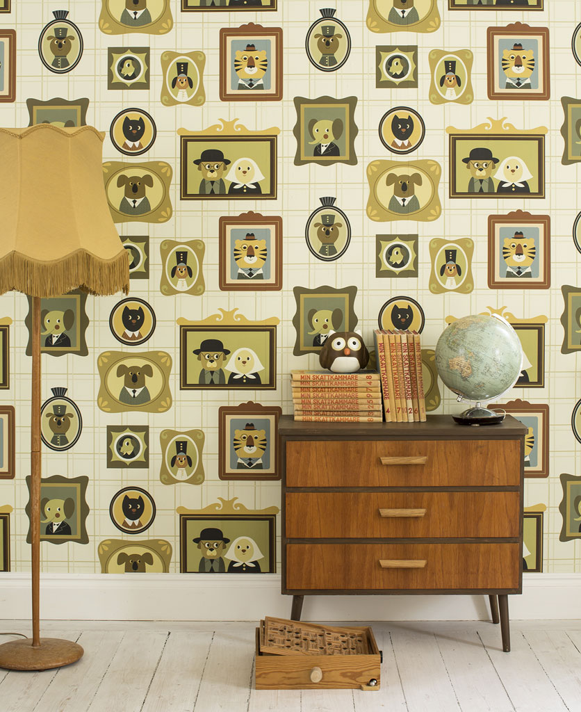 Frames_Beige_Fabel - Photowall-tapetti.