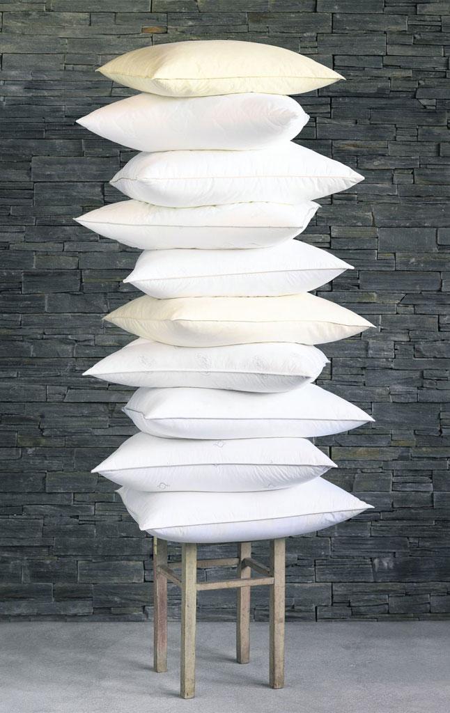 Hoida tyynyä säännöllisesti