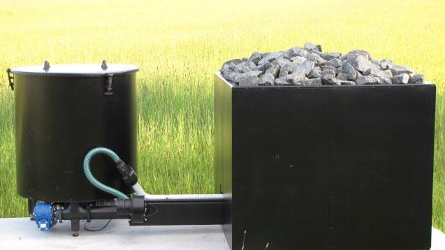 Pellettikäyttöinen automatisoitu savusaunan kiuas