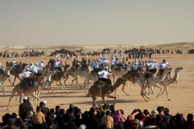 Joulun kamelikisa Tunisiassa