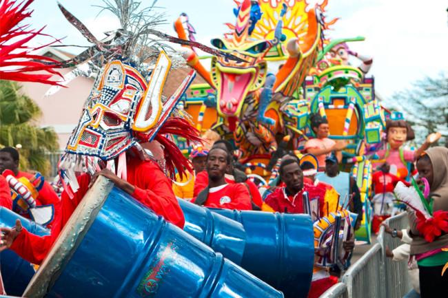 Junkanoo-juhla - jouluperinteet bahamalla