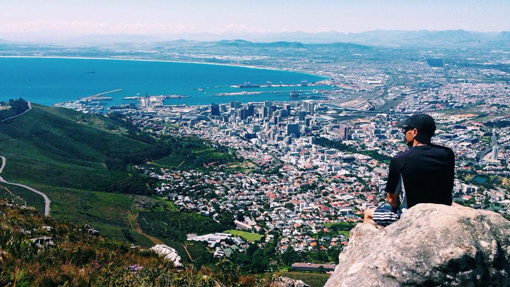 Kap-kaupunki - Lion's Head -vuori