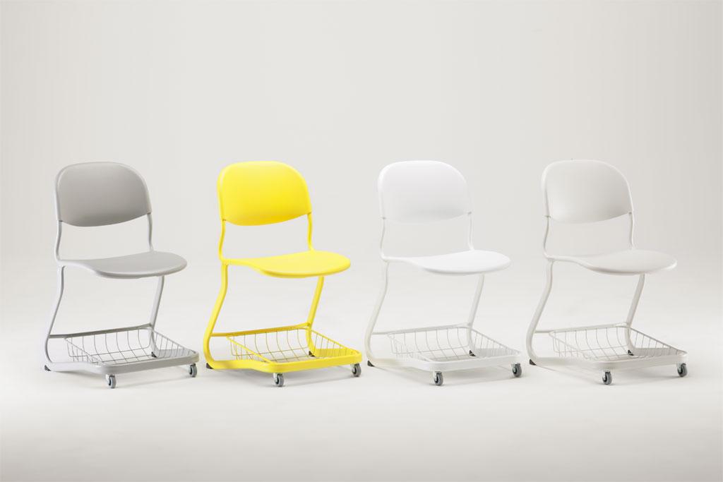 Trolley-pulpetin tuoli