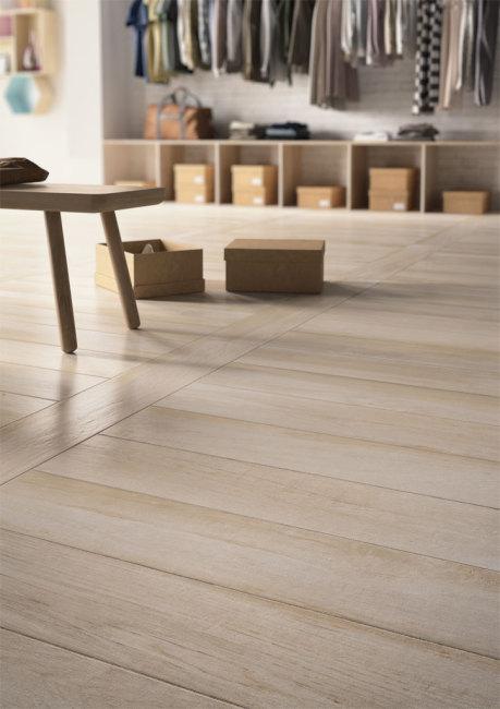 Keraaminen laatta - Woodplace bianco-antico