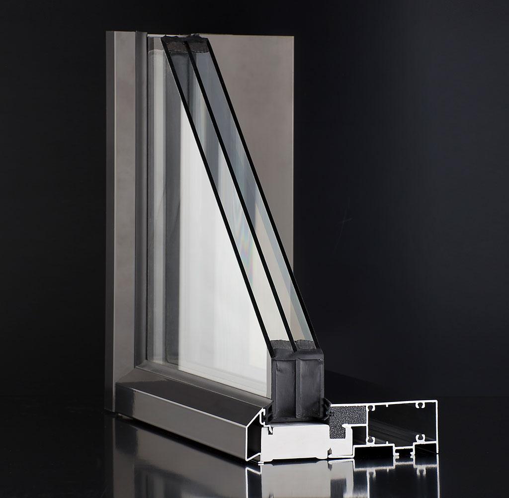alumiini-ikkunan rakenne