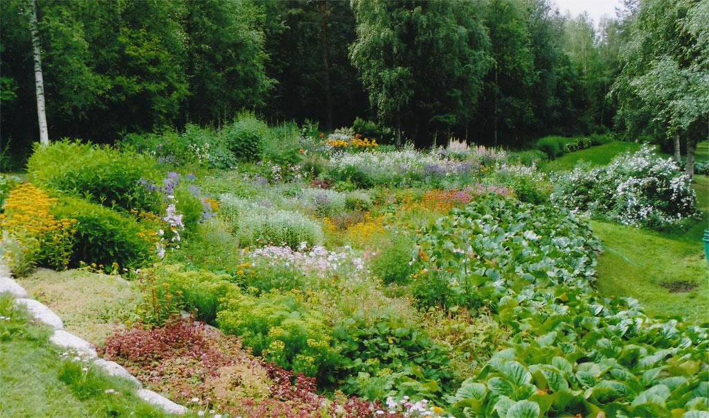 Avoimet puutarhat 2015 -voittaja