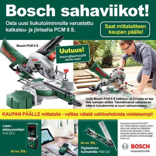 Bosch sahaviikot
