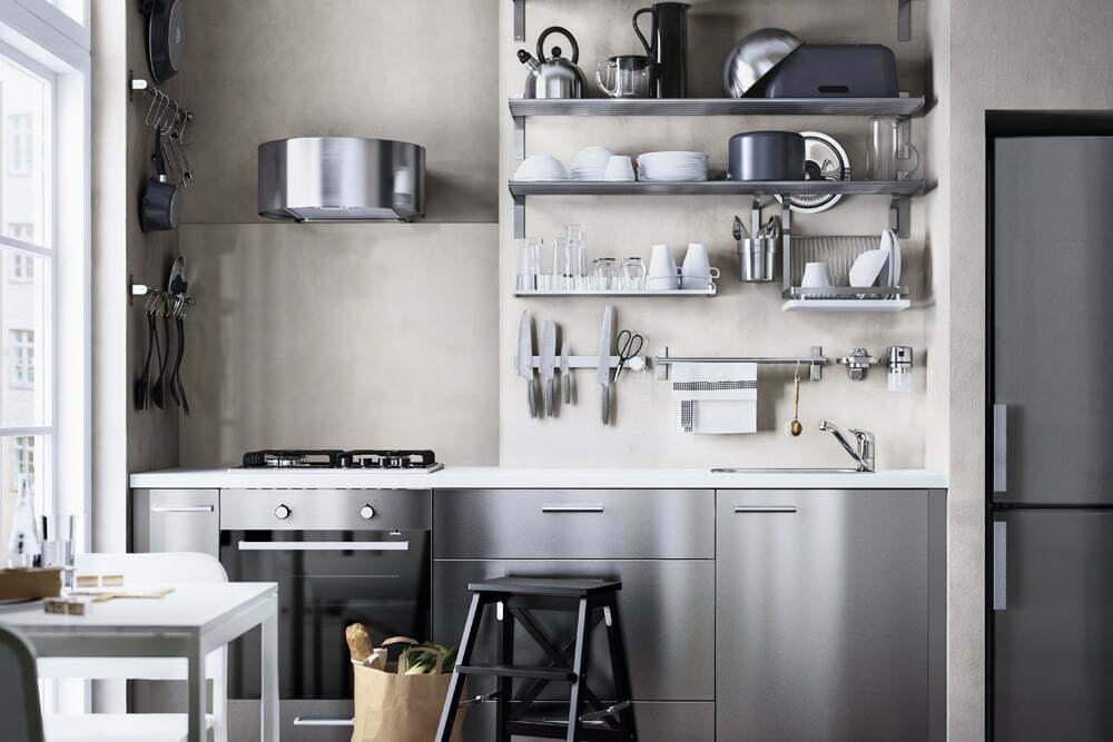 Pieni keittiö? Lue IKEAn vinkit!  Suomela  Jotta asuminen olisi mukavampaa