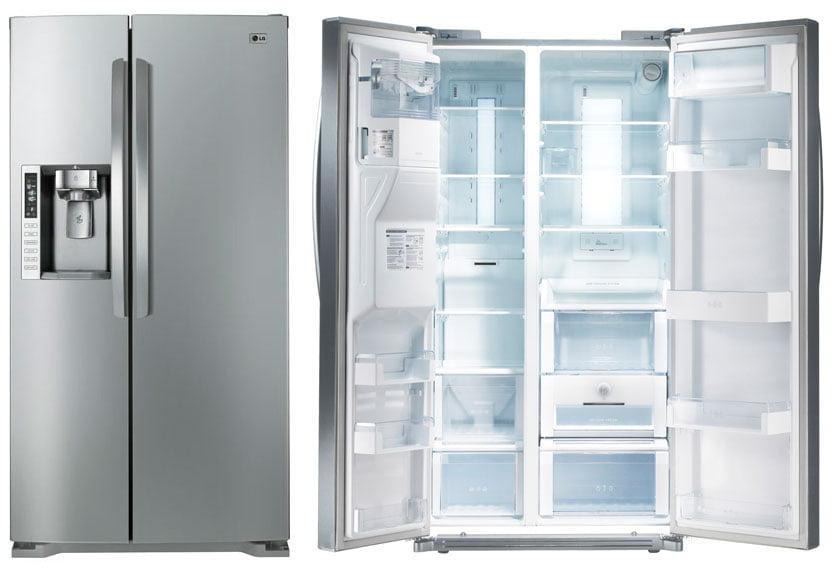 Jääkaappipakastin jääpalakoneella
