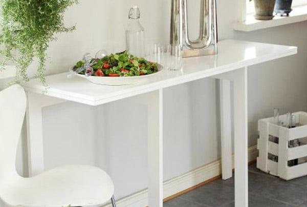 Tee itse iso pöytä pieneen tilaan  Suomela  Jotta asuminen olisi mukavampaa