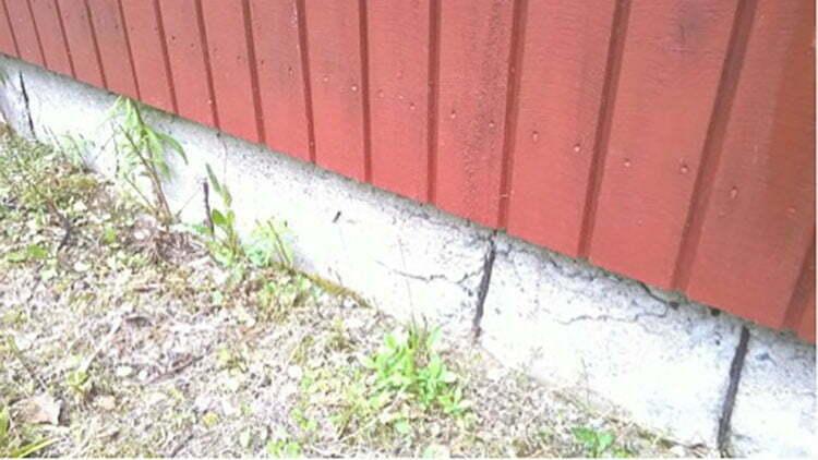 Pientalotohtori vastaa  Vaurioitunut sokkeli  Suomela  Jotta asuminen olis