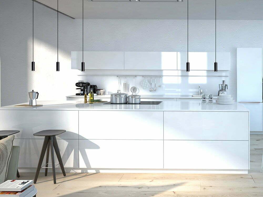 Toimiva keittiön valaistus  Suomela  Jotta asuminen olisi mukavampaa