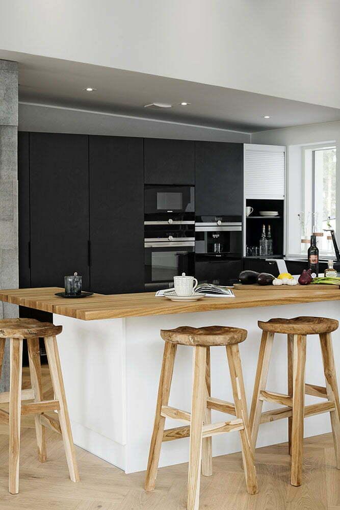 3 x moderni keittiö – Koko perheen keittiö  Suomela  Jotta asuminen olisi m