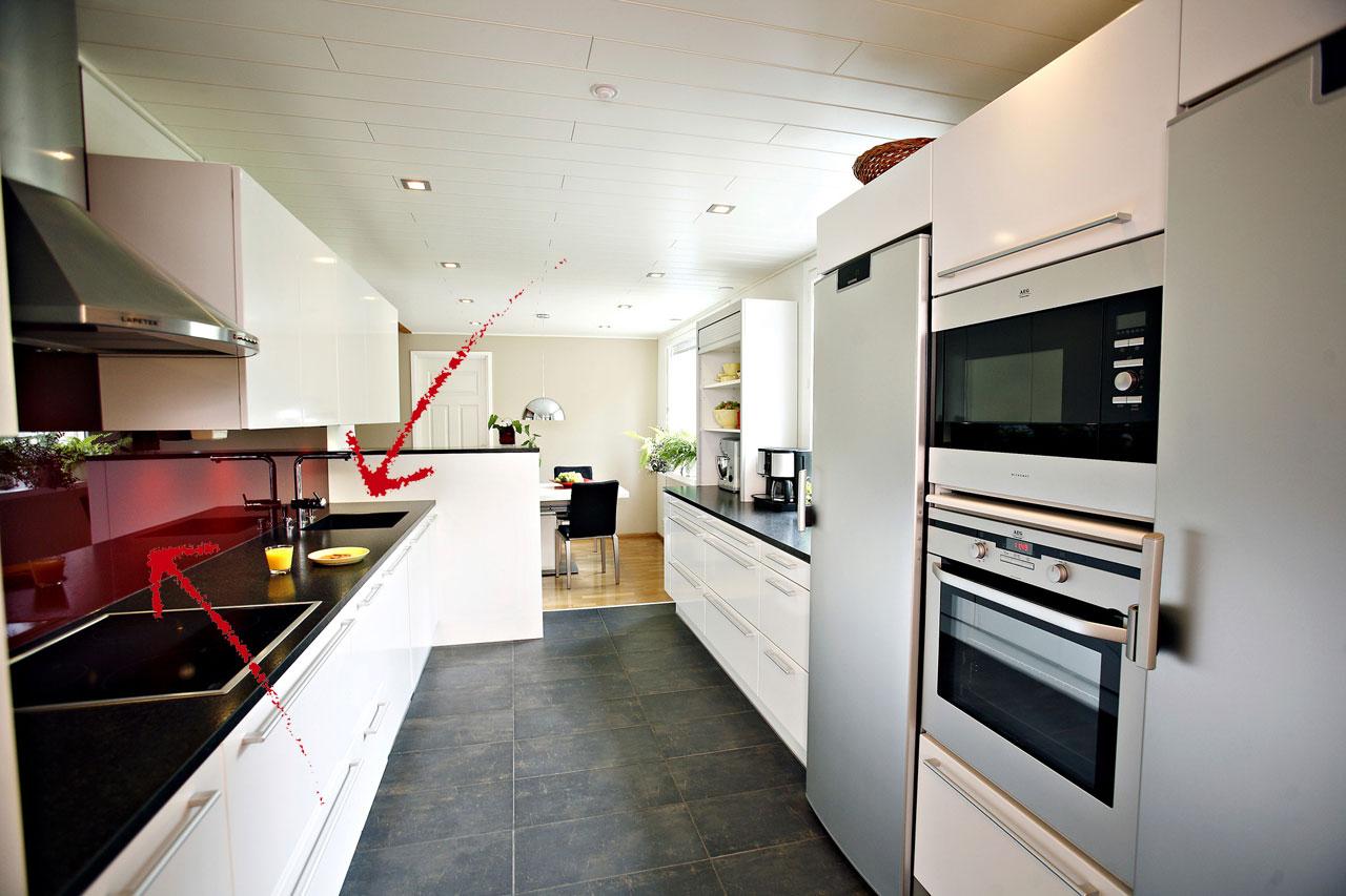 Keittiöremontin tuloksena siisti keittiö  Suomela  Jotta