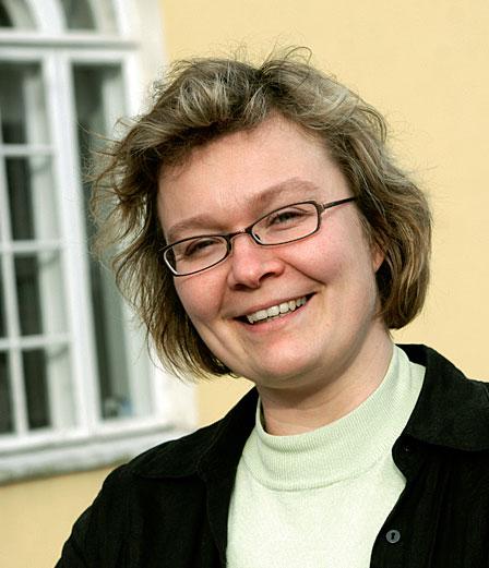 Järvenpään kaupunginpuutarhuri Katriina Arrakoski