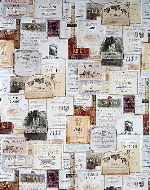 Galerie Memories -sarjan esiliisteriöity vinyylitapetti