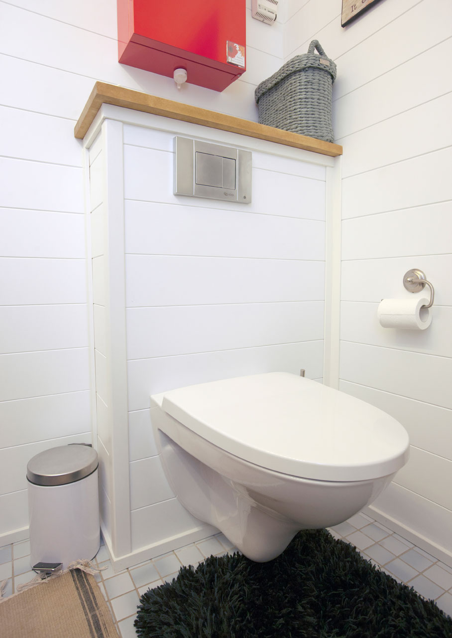 Seinä-wc viimeisteli remontin