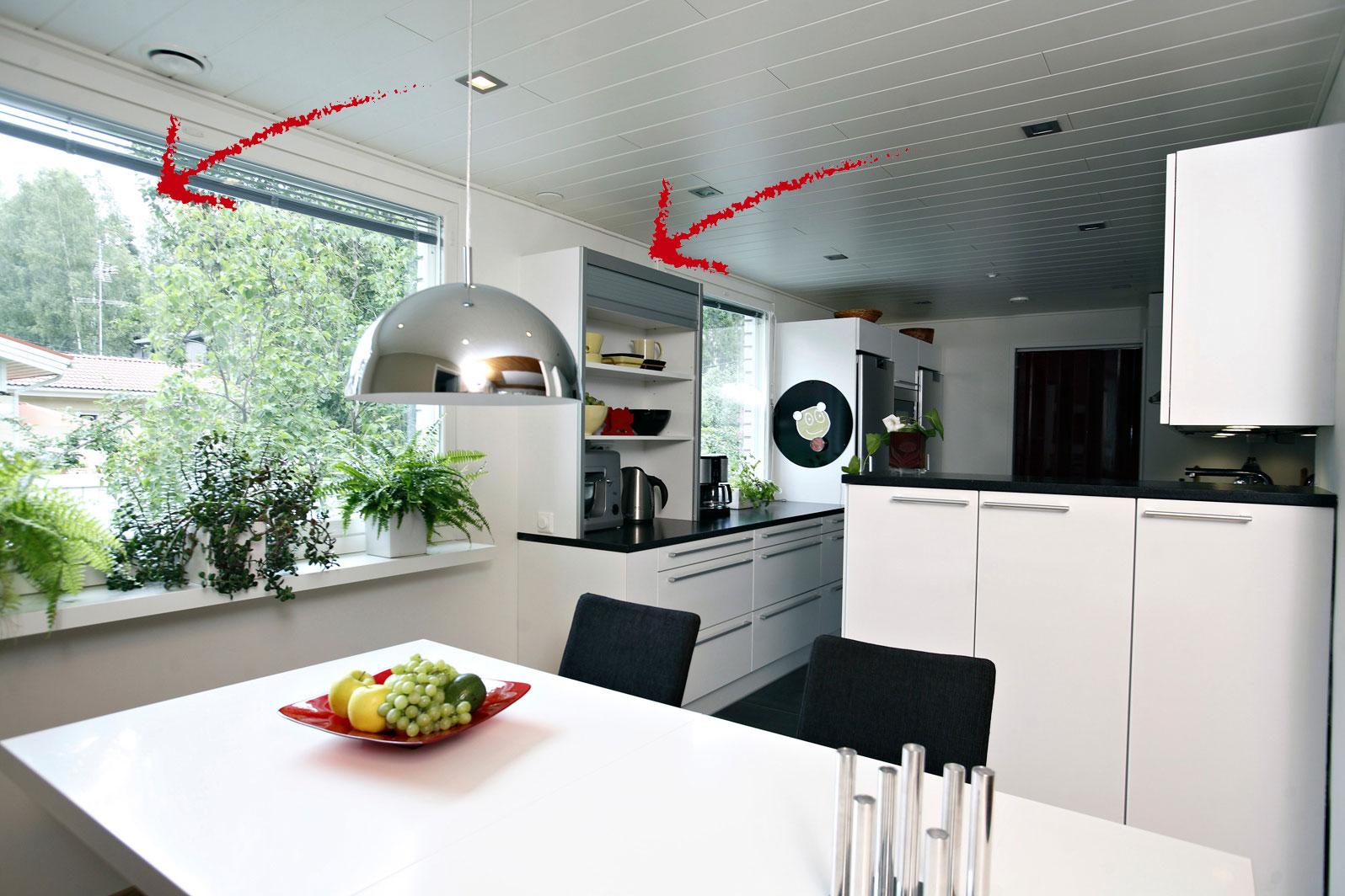 Keittiöremontin tuloksena siisti keittiö  Suomela  Jotta asuminen olisi muk