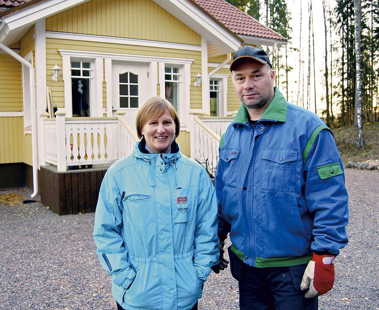 Päivi Karvinen ja Peter Oljemark