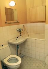 Kylpyhuone 1960-luvun asussaan.