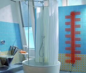 Kylpyhuoneen patteri lämmittää huonetilan ja kuivaa samalla pyyhkeet ja muut vaatekappaleet