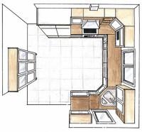 Puustellin keittiösuunnitelma