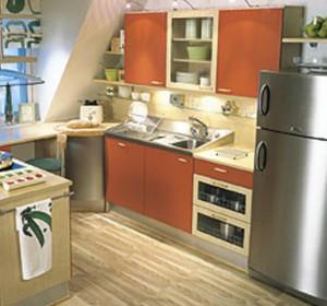 Esimerkkikuva Topin tarjoamasta Diana-keittiöstä.