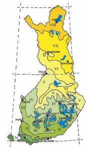 Omenan kasvualueet Suomessa