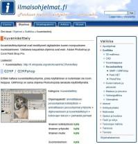 Ilmaisohjelmat.fi-nettisivu