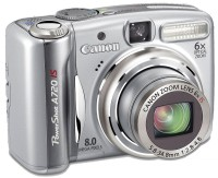 Canon PowerShot A720 IS -digitaalikamera