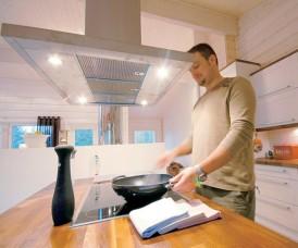 Avarassa ja toimivassa keittiössä on ilo kokata!
