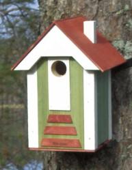 Eco-Iconin ekologinen linnunpönttö