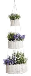 Tuoksuva, hyödyllinen ja näyttävä kevätkokonaisuus syntyy yhdistämällä kukkia ja yrttejä.