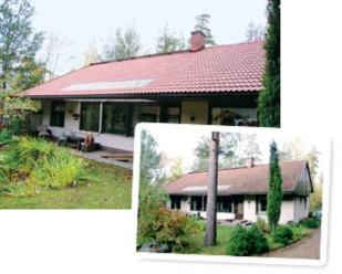 Tiilikaton pesu ja suojaus antavat katolle aivan uuden ilmeen.