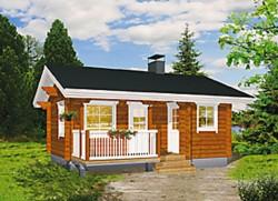 Mylly-sauna, Kuusamo Hirsitalot