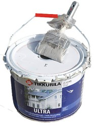 Jos keskeytät maalaamisen, laita sivellin muovipussiin ja sulje tiiviisti.
