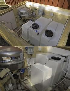 RO-suodatuslaitteistolla voidaan pelastaa vanha porakaivo, jonka veden esimerkiksi merivesi pilaa.