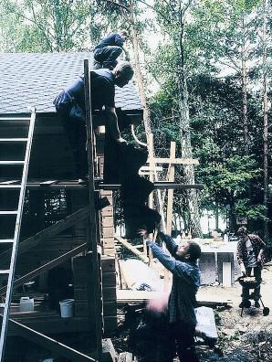 Lemminkäisen Kerabit-katon asennustalkoot