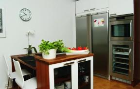 Keittiön kodinkoneet ovat laadukkaita