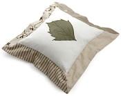 Lehtikuvioinen tyyny, Anna & Matti.