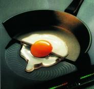 Induktiolevy lämmittää vain sen kohdan, jonka astian pohja peittää