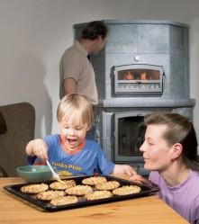 Alpuat halusivat kotiinsa sellaisen tulisijan, jossa on myös leivinuuni