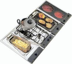 Domino-moduuleista voi valita itselleen keittotasot ja järjestellä ne mieleisellään tavalla