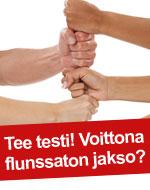 Käsienpesu hygienia tee testi
