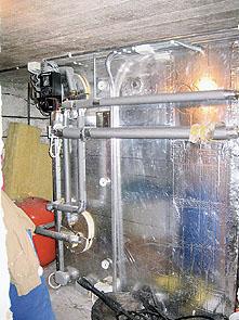 Lämminvesivaraajan kierukka on ehkä vaurioitunut