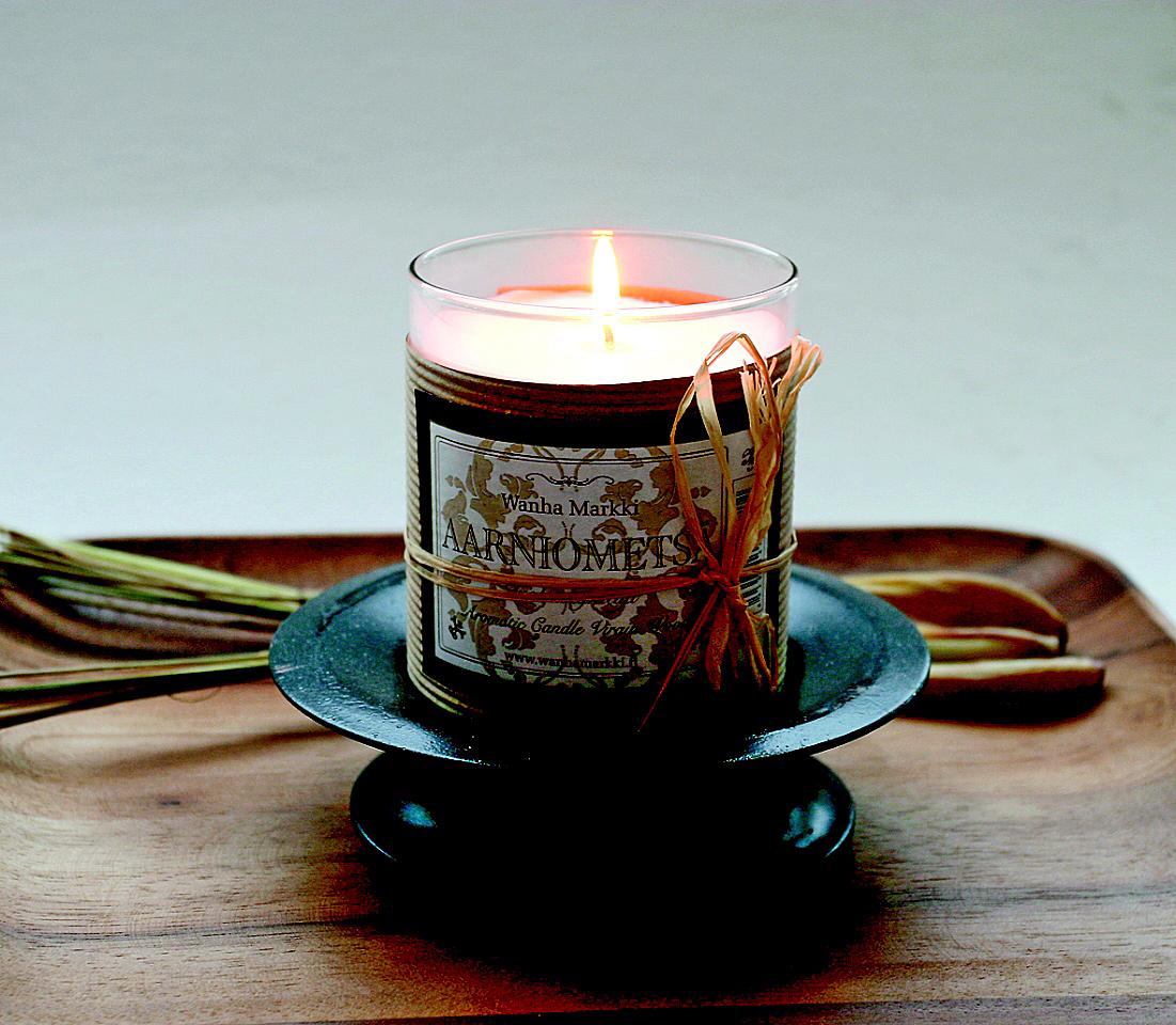 Aarniometsän tuoksu -kynttilä
