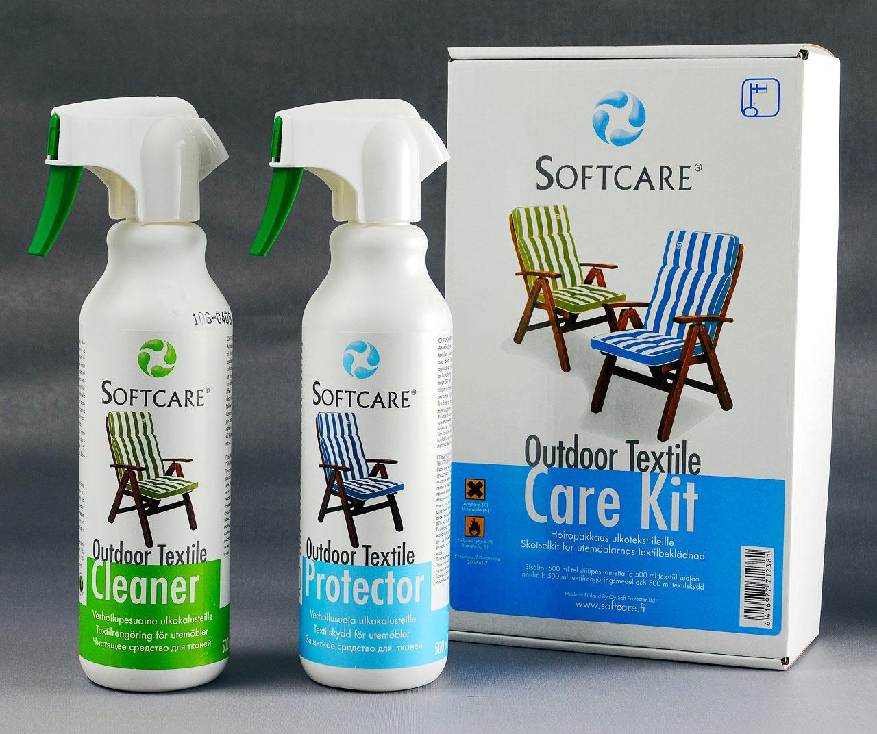 Softcare-tuotteet tekstiileille